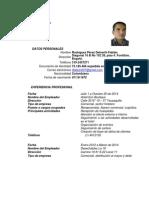 Curriculum Vitae Fabian