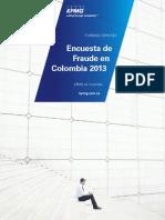 Encuesta de Fraude en Colombia 2013