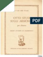 Van Der Staak, p. - Eight Studies in Harmonics