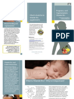 vitamin b12 and pregnancy - with references