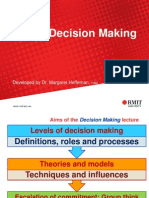 Decision Making Lecture Slide