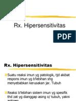 Rx. Hipersensitivitas Blok RS
