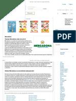 Mercadona - Ofertas Actuales en Los Catálogos de Mercadona