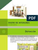 Nociones Basicas en El Diseño Interior