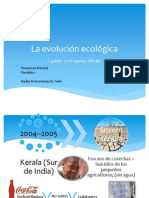 La Evolución Ecológica