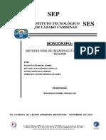 Monografia desarrllo de Software seguro