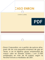 El Caso Enron. Análisis.