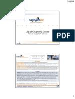 Course - LTE-EPC Signaling - 14 July 2 Eogogics
