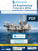 Element Oilfield Engineering With Polymers 2014 Programme