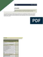 UAT Checklist