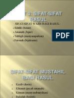 unit3sifat-sifat rasul