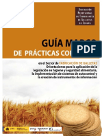 Guia Marco Prácticas Fabricación Galletas ESPAÑA