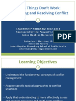 Conflict Management Slides