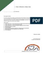 Convocatoria Assemblea Ordinaria 04-12-2014