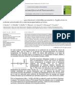 Determinación de Parametros de Solubilidad de Poly(E-caprolactona) Sustitución de Solvente Para Microencapsulación