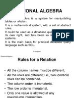 Lecture 8 Relation Algebra Tutor