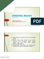Kinetika Reaksi KFP 2014