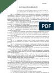 LEI 5022 82- Fixa Níveis de Soldo