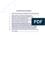 Advanced Electronics Lab Manual