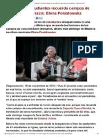 Masacre de Estudiantes Recuerda Campos de Concentración Nazis_ Elena Poniatowska - Regeneración