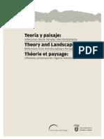 Teoría y Paisaje