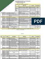 REUNIONES Y ACTIVIDADES 2010