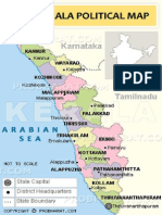 Kerala Political Map