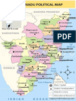 Tamilnadu Political Map