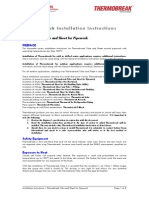 Thermobreak Tube Installation Instructions