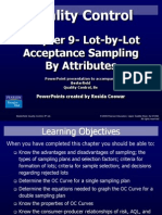 CHAPTER 10 LOT-BY-LOT ACCEPTANCE SAMPLING FOR ATTRIBUTES.ppt