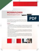 Huawei eLTE Access-U2000M2000 Datasheet(HD).pdf