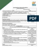 Planeación Didáctica Educación Artistica IBARRA