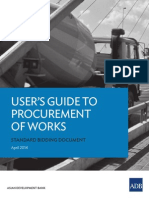 Bidding Docs- Works Users Guide