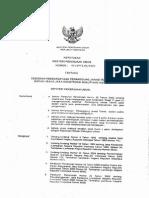 Keputusan Menteri Pu Nomor 45 Th. 2005