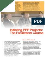Facilitating PPP Arrangements