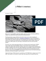 Rosetta Tracks Philae