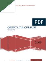 Catalog oferta cursuri/training IPS