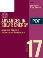 ADVANCES in Solar Energy Vol 17