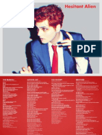 Digital Booklet - Hesitant Alien