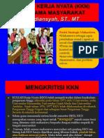 Bahan Hardiansyah Kuliah Kerja Nyata (Kkn) Bersama Masyarakat(1)