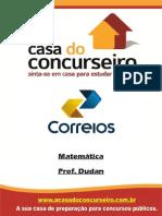 Apostila Correios.2014 Matematica Dudan1