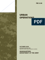 Army - fm3 06 - Urban Operations