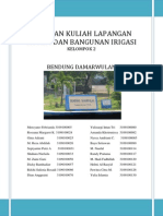 Laporan Kuliah Lapangan Sistem Bangunan Irigasi