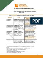 CCG KPI's for Industry