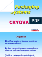 Principios Para Empaque Al Vacío Sistema Cryovac