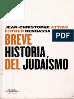 Attias-Benbassa Breve Historia Del Judaísmo