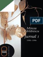 Mircea Cartarescu  Jurnal I