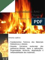Flamabilidade Materiais