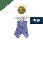 90550AD Crocheted Mesh Vest