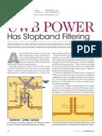 UWB Power Divider